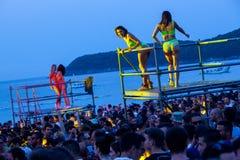 Festival de danse de mer - serrez-vous sur l'étape de Paradiso de danse Photos stock
