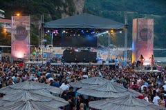 Festival de danse de mer - serrez-vous sur l'étape de Paradiso de danse Image libre de droits