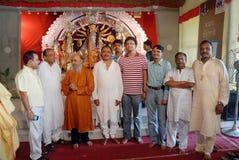 Festival de Durga de ménage de Kolkata Images stock