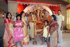 Festival de Durga de ménage de Kolkata Photographie stock