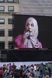 Festival de EID en el cuadrado 7 de Trafalgar fotos de archivo