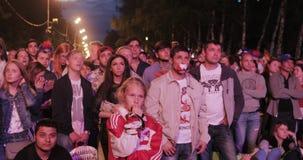 Festival de fans de la FIFA en las colinas del gorri?n metrajes