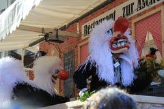 Festival de Fasnacht, Bâle Photos stock