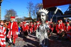 2015 festival de Fasnacht, Basileia Imagem de Stock Royalty Free