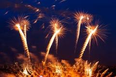 Festival de feux d'artifice Photos stock