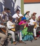 Festival de fleur d'amande de Tejeda image libre de droits