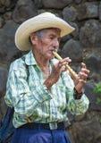 Festival de fleur et de paume dans Panchimalco, Salvador Image libre de droits