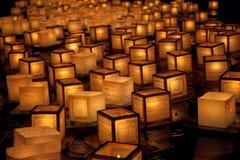 Festival de flottement de lanterne, Honolulu, Hawaï Image libre de droits