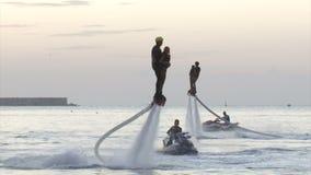 Festival de Flyboarding na margem - em agosto de 2016, Sevastopol, Crimeia filme