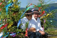 Festival de folklore dans Zuberec - Brestova photo stock