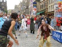 Festival de frange Image libre de droits