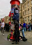 Festival de frange d'Edimbourg images stock