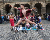 Festival 2016 de frange d'Edimbourg Photo stock
