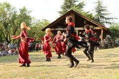Festival de gène d'art folklorique en Géorgie Image stock