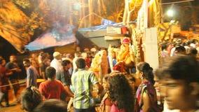 Festival de Ganesh video estoque