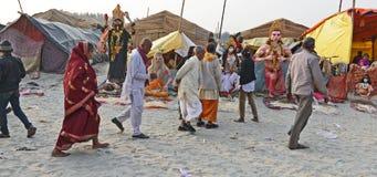 Festival de Gangasagar Imagens de Stock