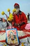 Festival de Gangasagar en Inde. Photo libre de droits