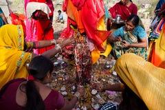 Festival de Gangaur à l'Inde du Ràjasthàn Photos stock