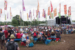 Festival de Glastonbury das artes Imagem de Stock