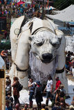 Festival de Glastonbury das artes Fotos de Stock
