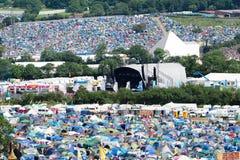 Festival de Glastonbury das artes Imagens de Stock