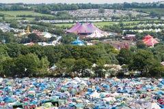 Festival de Glastonbury das artes Fotografia de Stock