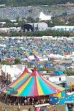Festival de Glastonbury de los artes imagen de archivo libre de regalías