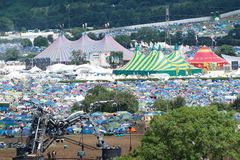 Festival de Glastonbury des arts Photographie stock