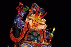 Festival de Goshogawara Tachi Neputa (flutuador estando) fotos de stock royalty free