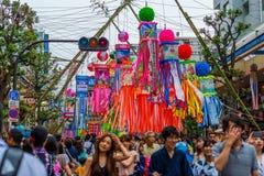 Festival de Hiratsuka Tanabata Imagem de Stock