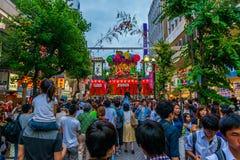 Festival de Hiratsuka Tanabata Foto de Stock Royalty Free