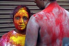 Festival de Holi Foto de archivo libre de regalías
