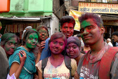 Festival de Holi imagenes de archivo