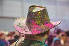 Festival de Holi foto de archivo