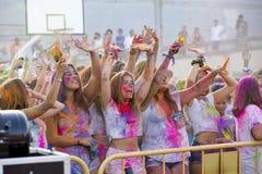 Festival de Holi Fotos de archivo