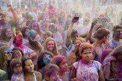 Festival de Holi Fotos de archivo libres de regalías