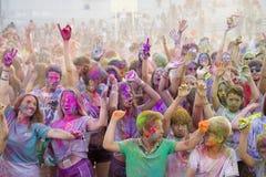 Festival de Holi Imagen de archivo