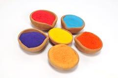 Festival de Holi das cores Fotos de Stock Royalty Free