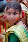 Festival de Holi de couleurs Photographie stock