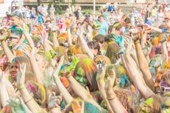 Festival de Holi de couleurs peintures Photo libre de droits