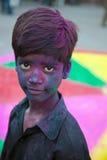 Festival de Holi en Inde photos libres de droits