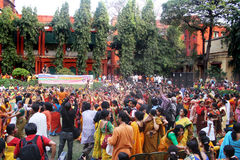 Festival de Holi en la India foto de archivo libre de regalías