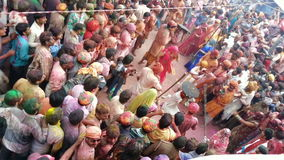 Festival de Holi en la India metrajes