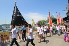 Festival 2015 de Hong Kong Cheung Chau Bun Imagem de Stock