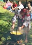 Festival de Hutsul Bryndza de Rakhiv Foto de Stock