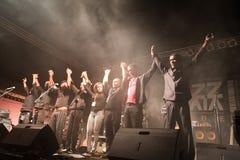 Festival de jazz de Kriol abril em 14, 2011 Imagens de Stock Royalty Free