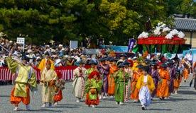 Festival de Jidai Matsuri foto de archivo