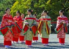 Festival de Jidai Matsuri Imágenes de archivo libres de regalías
