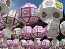Festival de jour de Bouddha en Corée du Sud Images libres de droits