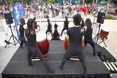 Festival de jour du Japon et d'amis Images stock